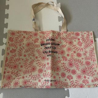 ジェラートピケ(gelato pique)の【未使用】マッシュグループ エコバッグ トートバッグ ショップ袋(ショップ袋)
