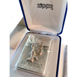 ジッポー(ZIPPO)の新品 ウルトラマン30周年 銀 シルバー ケース付き スターリング ZIPPO(タバコグッズ)