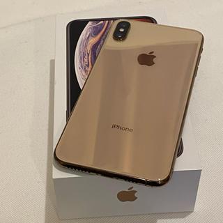 アイフォーン(iPhone)のiPhone xs max 256GB ゴールド ドコモ (スマートフォン本体)