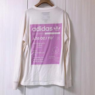 adidas - アディダス アディダスオリジナルス バックプリント カットソー