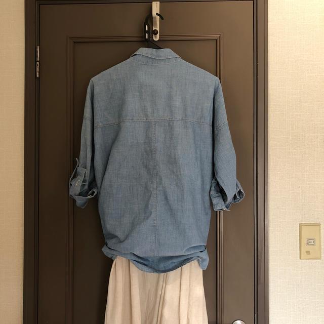 GAP(ギャップ)のデニムシャツ GAP  L レディースのトップス(シャツ/ブラウス(長袖/七分))の商品写真
