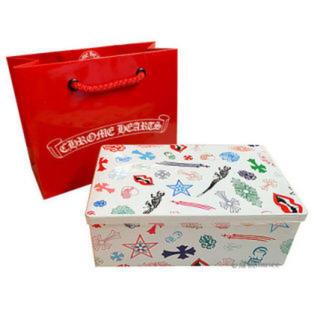 クロムハーツ(Chrome Hearts)のクロムハーツ 限定 クッキー 缶 ヨックモック シガール(菓子/デザート)