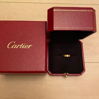 カルティエ(Cartier)の正規品 カルティエ ミニラブリング46 YG イエローゴールド(リング(指輪))