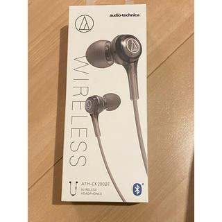 オーディオテクニカ(audio-technica)の【新品未使用】オーディオテクニカ Bluetooth対応ワイヤレスイヤホン(ヘッドフォン/イヤフォン)