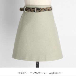 dholic - レオパードベルトSETミニスカート