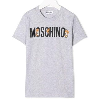 MOSCHINO - 2020春夏☆最新作 MOSCHINO モスキーノ テディベア Tシャツ グレー