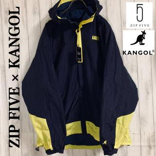 KANGOL - 【新品】ZIP FIVE × KANGOL マウンテンパーカー