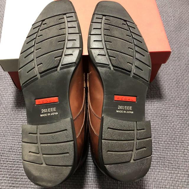 REGAL(リーガル)のREGAL リーガル チェッカーブーツ 26.5㎝ 3E幅広 20CR メンズの靴/シューズ(ドレス/ビジネス)の商品写真