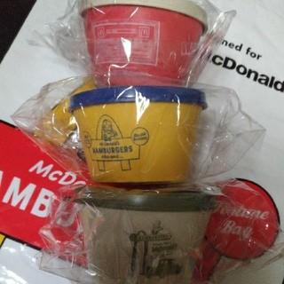 ニコアンド(niko and...)の⭐マクドナルド 福袋 デリカップ 3種類 3個 セット 2020 マクド マック(ノベルティグッズ)