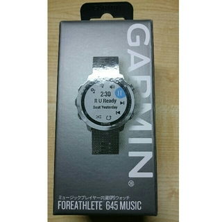 GARMIN Foreathlete 645 MUSIC Black 新品未使用