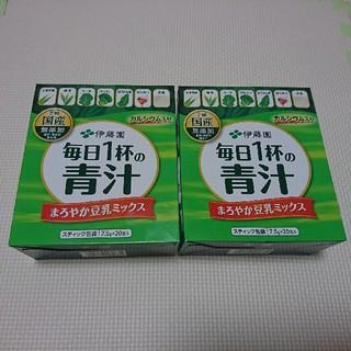 イトウエン(伊藤園)の伊藤園青汁 2箱セット③(青汁/ケール加工食品)
