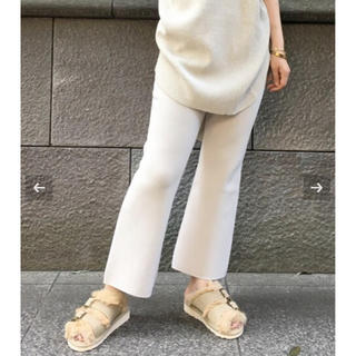 L'Appartement DEUXIEME CLASSE - アパルトモン♡ Cropped Knit パンツ