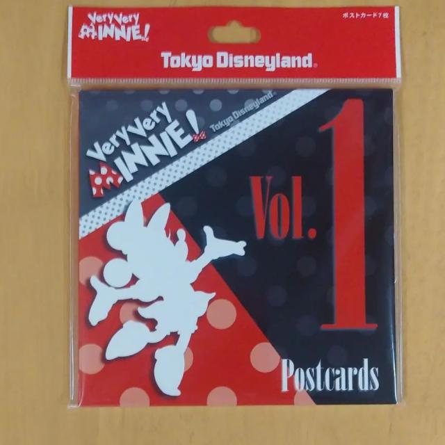 ディズニーランド ベリーベリーミニー ポストカード Vol.1 エンタメ/ホビーの声優グッズ(写真/ポストカード)の商品写真
