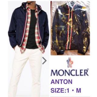 MONCLER - 【クリーニング店仕上済・モンクレールANTON】ブルゾン  ジャンパー アウター