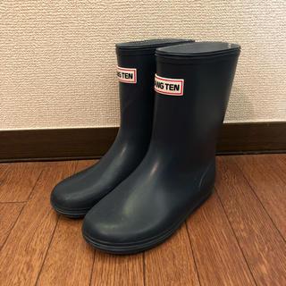 HANG TEN - 長靴19cmネイビー