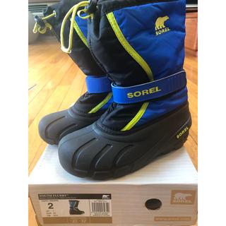 ソレル(SOREL)のsorel スノーブーツ 20センチ(ブーツ)