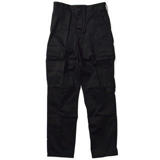 ロスコ(ROTHCO)の新品未使用 rothco ロスコ BDU PANTS カーゴパンツ ブラック 黒(ワークパンツ/カーゴパンツ)