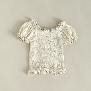 Caramel baby&child  - 新品未使用 yoli&otis OMI TOP (5Y/OFF WHITE)