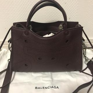 Balenciaga - バレンシアガ ブラックアウトミニシティXS  極美品
