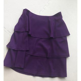 クチュールブローチ(Couture Brooch)のcouture brooch 三段フレアースカート(ひざ丈スカート)