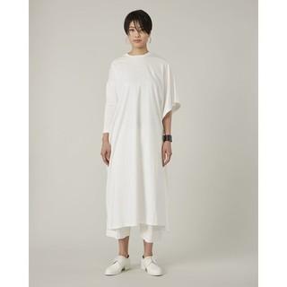 エムエムシックス(MM6)のMM9 アシンメトリーロングTシャツ(カットソー(長袖/七分))
