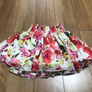 rienda - 美品 リエンダ シフォンミニスカート(インパン付き)size.S