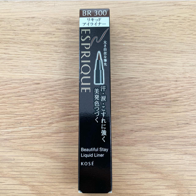 ESPRIQUE(エスプリーク)のエスプリーク リキッドアイライナー BR300 コスメ/美容のベースメイク/化粧品(アイライナー)の商品写真