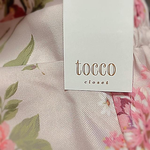 tocco(トッコ)のtocco closet トッコクローゼット 花柄 スカート 即完売商品 レディースのスカート(ひざ丈スカート)の商品写真
