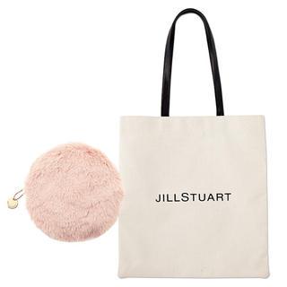 JILLSTUART - JILLSTUART BIGトート&ふわふわポーチ