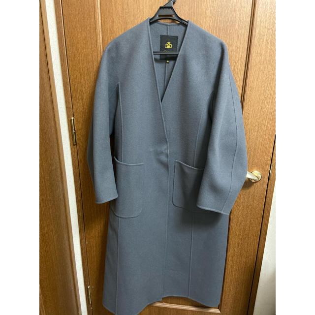 Drawer(ドゥロワー)のdrawer2019 ケヌキムソウコート 38 レディースのジャケット/アウター(ロングコート)の商品写真