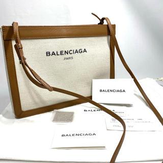 Balenciaga - バレンシアガ ネイビー ポシェット ショルダー バッグ