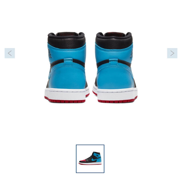 NIKE AIR JORDAN 1 HIGH OG レディースの靴/シューズ(スニーカー)の商品写真