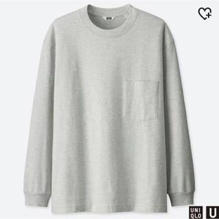 ユニクロ(UNIQLO)のUniqloU クルーネックT(Tシャツ/カットソー(七分/長袖))