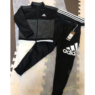 adidas - adidas アディダス ジャージ 上下(120cm)ブラック