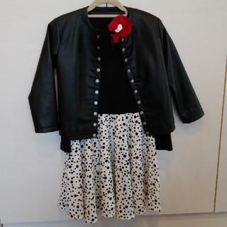 アニエスベー(agnes b.)のアニエス・ベーアンファン  女の子 フォーマルセット 入学式用 約115cm(ドレス/フォーマル)