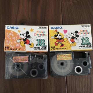 CASIO - カシオ ネームランド テープ ディズニー