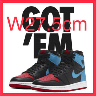 ナイキ(NIKE)のNIKE WMNS JORDAN 1 CHICAGO to UNC(スニーカー)