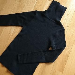 アルピーエス(rps)のr・p・s 黒色タートルネック(ニット/セーター)