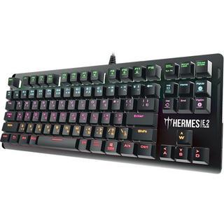 ゲーミングキーボード 日本語91キー 赤軸)(PC周辺機器)