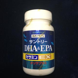 サントリー - サントリー DHA&EPA セサミンEX オリザプラス 120粒 新品、未使用品