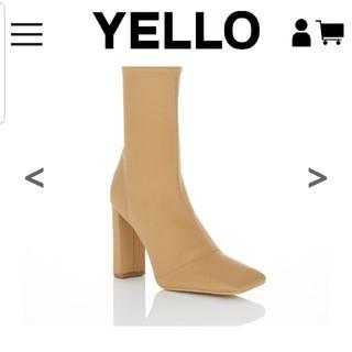 イエローブーツ(Yellow boots)のyello ショートブーツ Sサイズ(ブーツ)