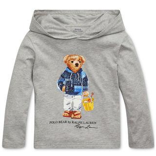 POLO RALPH LAUREN - ★POLO BEAR ★ラルフローレンポロベアフーデッドTシャツS/140