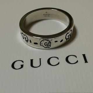Gucci - GUCCI ゴースト スカル リング 20号表記 19号