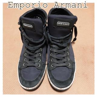 エンポリオアルマーニ(Emporio Armani)のEmporio Armani(アルマーニ)ハイカット スニーカー(スニーカー)