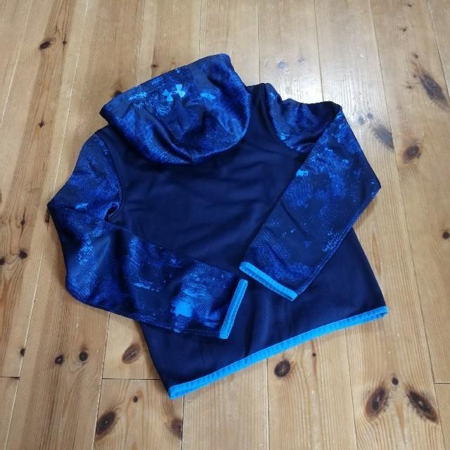UNDER ARMOUR(アンダーアーマー)の〈YSM/130〉アンダーアーマー パーカー キッズ/ベビー/マタニティのキッズ服男の子用(90cm~)(Tシャツ/カットソー)の商品写真