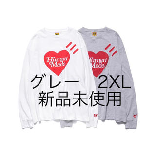 HUMAN MADE × Girls Don't Cry ロンT グレー 2XL(Tシャツ/カットソー(七分/長袖))