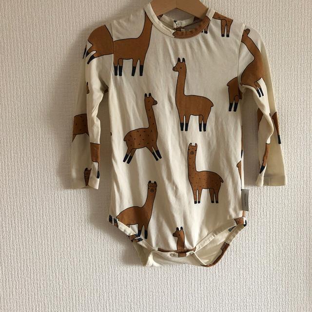 こども ビームス(コドモビームス)のtinycottons ロンパース 2着 キッズ/ベビー/マタニティのベビー服(~85cm)(ロンパース)の商品写真