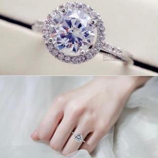 【SWAROVSKI】『金属アレルギー対応』クリスタルリング 指輪(リング(指輪))