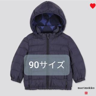 マリメッコ(marimekko)のユニクロ マリメッコ ダウン(ジャケット/上着)