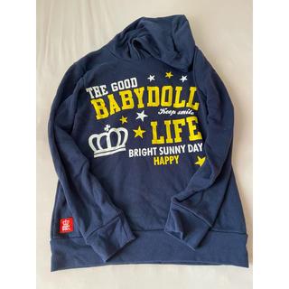 ベビードール(BABYDOLL)のベビードール トレーナー Mサイズ(トレーナー/スウェット)